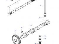 Впускной клапан двигателя трактора Massey Ferguson — 836646356