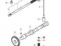 Сухарь клапана двигателя Sisu Diesel трактор Challenger — 836646382
