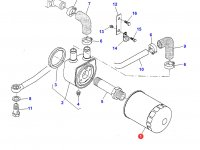 Масляный фильтр двигателя Sisu Diesel трактора Challenger — 836647133