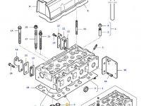 Седло клапана двигателя трактора Massey Ferguson — 836647600