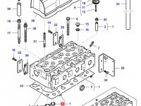Седло выпускного клапана двигателя Sisu Diesel трактора Challenger — 836647600