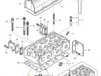 Седло клапана двигателя трактора Massey Ferguson — 836647936