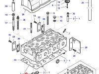 Седло выпускного клапана двигателя Sisu Diesel трактора Challenger — 836647936