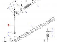 Штанга толкатель клапана двигателя Sisu Diesel трактор Challenger — 836655867