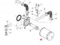 Масляный фильтр двигателя Sisu Diesel трактора Challenger — 836662111