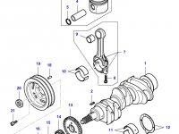 Поршень двигателя Sisu Diesel для трактора Challenger — 836666103