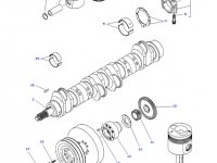 Шатун двигателя трактора Challenger — 836666430
