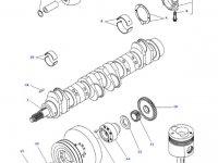 Шатун двигателя трактора Challenger — 836666431