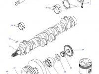 Шатун двигателя трактора Challenger — 836666432