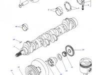 Шатун двигателя трактора Challenger — 836666433