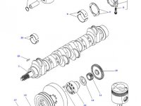 Шатун двигателя трактора Challenger — 836666435