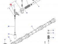 Коромысло(рокер) клапана двигателя Sisu Diesel трактора Challenger — 836666608