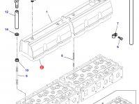 Прокладка клапанной крышки двигателя Sisu Diesel трактор Challenger — 836667243
