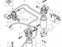 Топливоподкачивающий насос двигателя трактора Massey Ferguson — 836667405