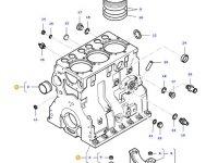 Блок двигателя трактора Massey Ferguson — 836667523