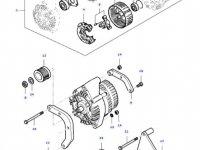Натяжитель приводного ремня двигателя трактора Massey Ferguson — 836667827