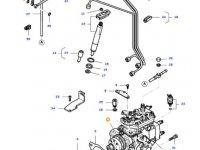 Топливный насос высокого давления (ТНВД) двигателя трактора Massey Ferguson — 836672297