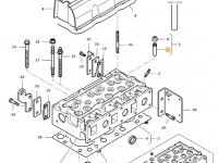 Направляющая втулка клапана двигателя трактора Massey Ferguson — 836673175