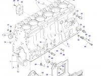 Гильза цилиндра двигателя Sisu Diesel трактор Challenger — 836673191 (836666990)