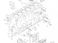 Гильза цилиндра двигателя Sisu Diesel трактора Massey Ferguson — 836673191