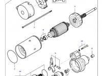 Стартер двигателя трактора Massey Ferguson — 836673289