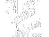 Комплект шатунов двигателя трактора Challenger — 836740859