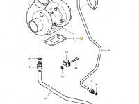 Турбокомпрессор двигателя трактора Massey Ferguson — 836759238