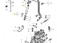 Форсунка двигателя трактора Massey Ferguson — 836764613