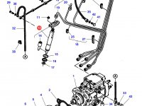 Форсунка двигателя Sisu Diesel трактор Challenger — 836764613