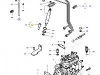 Распылитель форсунки двигателя трактора Massey Ferguson — 836764614