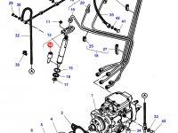Распылитель форсунки двигателя Sisu Diesel трактор Challenger — 836764614