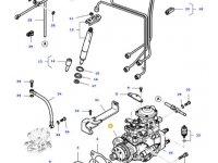Топливный насос высокого давления (ТНВД) двигателя трактора Massey Ferguson — 836772289
