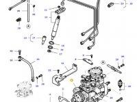 Топливный насос высокого давления (ТНВД) двигателя трактора Massey Ferguson — 836772290