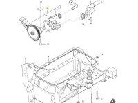 Масляный насос двигателя трактора Massey Ferguson — 836773146