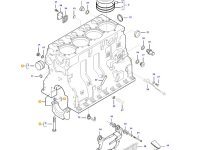 Блок двигателя трактора Massey Ferguson — 836773437