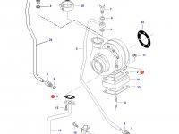 Турбокомпрессор двигателя трактора Challenger — 836840885