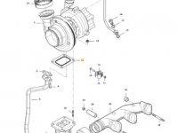 Прокладка турбокомпрессора двигателя трактора Massey Ferguson — 836840992