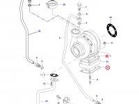Прокладка турбокомпрессора двигателя трактора Challenger — 836840992