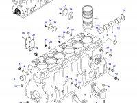 Масляная форсунка охлаждения поршня двигателя Sisu Diesel — 836846231