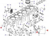 Блок двигателя Sisu Diesel трактор Challenger — 836847275