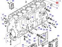 Вкладыши распредвала двигателя трактора Massey Ferguson — 836852459
