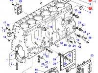 Вкладыши распредвала двигателя трактора Massey Ferguson — 836852460
