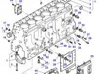 Вкладыши распредвала двигателя трактора Massey Ferguson — 836852461