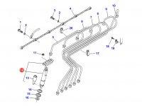Форсунка двигателя Sisu Diesel трактор Challenger — 836854791