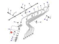 Распылитель форсунки двигателя Sisu Diesel трактор Challenger — 836854792