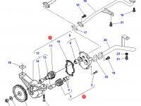 Масляный насос двигателя Sisu Diesel трактора Massey Ferguson — 836855300