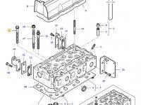 Болт головки блока цилиндров двигателя трактора Massey Ferguson — 836859104