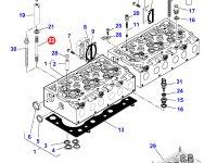 Шпилька головки блока цилиндров двигателя Sisu Diesel трактора Massey Ferguson — 836859109