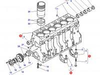 Блок двигателя Sisu Diesel трактор Challenger — 836859155