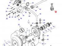 Ремкомплект водяного насоса трактора Challenger — 836862271
